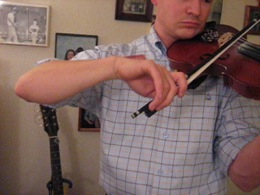 Noel Fiddle Bow Arm